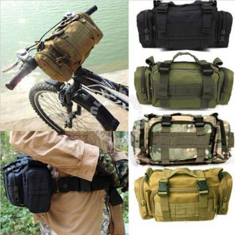 Military Army Bag Shoulder Waist Pouch Sling Bag - Bags & Wallets ...