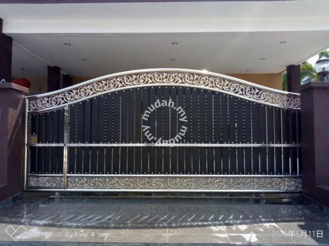 Moden Harga Pintu Pagar Rumah Di Malaysia