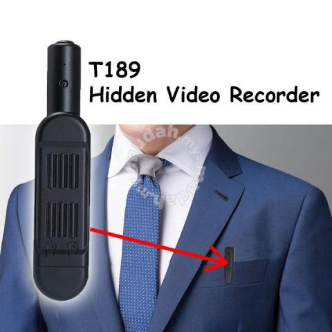 T189 Mini Hidden Spy Camera Pen HD 1080P Recorder - Cameras & Photography  for sale in Puchong, Selangor