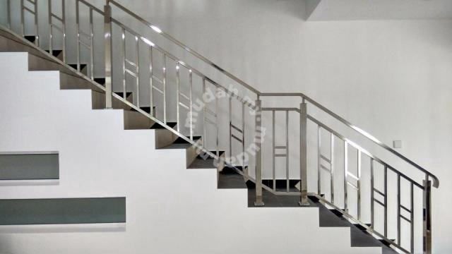 Handrail modern Stainless Steel Staircase Railing - Home ...