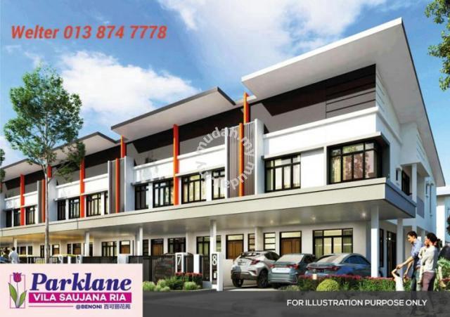 Parklane Villa Benoni Terrace House , Papar