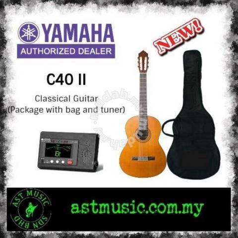 Yamaha C40 02 C 40 Ii Classical Guitar Package Music Instruments For Sale In Ampang Selangor Mudah My