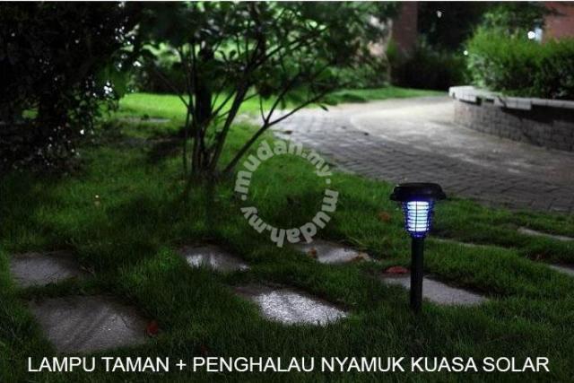 Lampu Taman Dwi Fungsi Led Anti Nyamuk Garden Items For Sale In Kepong Kuala Lumpur Mudah My
