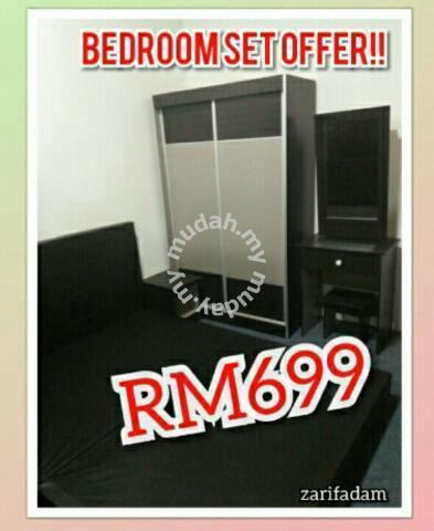 Promosi Set Bilik Tidur Murah Furniture Decoration For In Cheras Kuala Lumpur