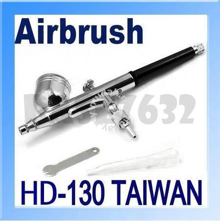 Hd 130 Airbrush Spray Gun 03mm Needle Nail Art Home Appliances