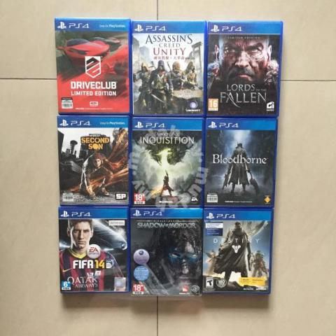 PS4 Games - Games & Consoles for sale in Bukit Jalil, Kuala Lumpur