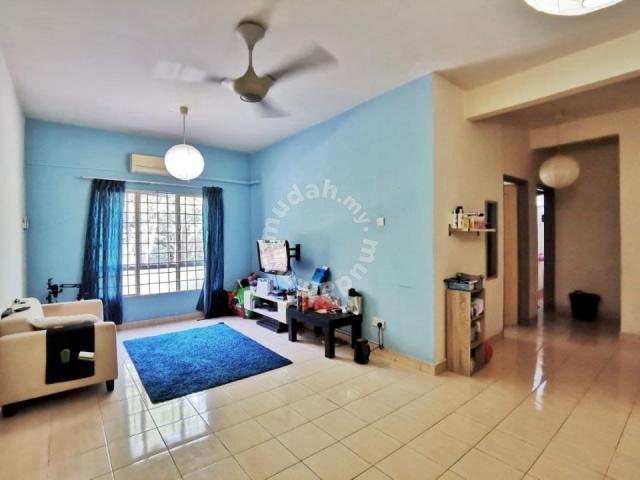LEVEL 1 ADA LIF CORNER UNIT Delima Apartment Bukit Jelutong Shah Alam