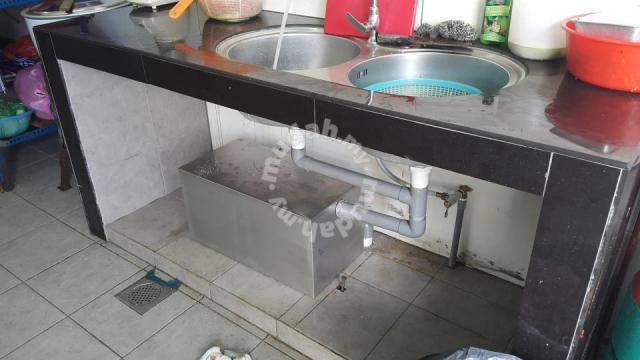 Grease Trap For Sale >> Stainless Steel 304 Grease Trap Perangkap Minyak Furniture Decoration For Sale In Others Penang