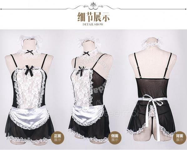 Maid Outfit Strapless Dress Anime Cosplay Clothes For Sale In