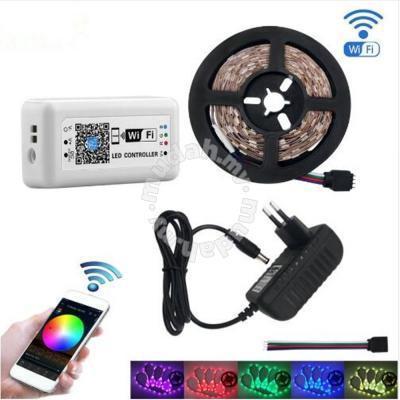 detailed look e3185 0ea46 KWB WiFi Controller 5050 RGB LED Strip light - Garden Items for sale in  Kuchai Lama, Kuala Lumpur