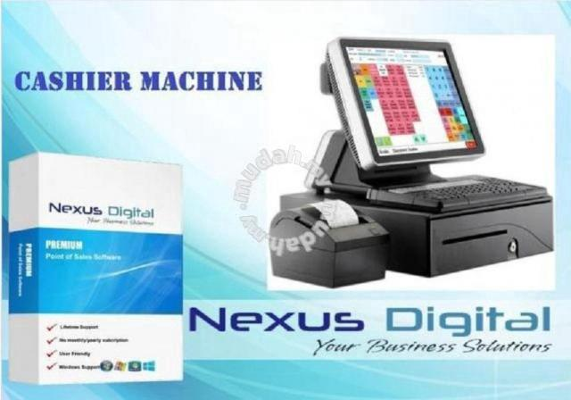 Pos SYSTEM (point of sales) cash register - Professional/Business Equipment  for sale in Ipoh, Perak