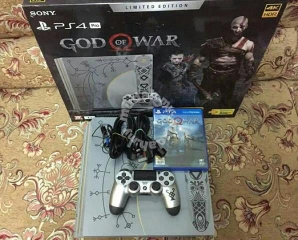 Ps4 Pro God Of War Limited Edition Games Consoles For Sale In Others Selangor