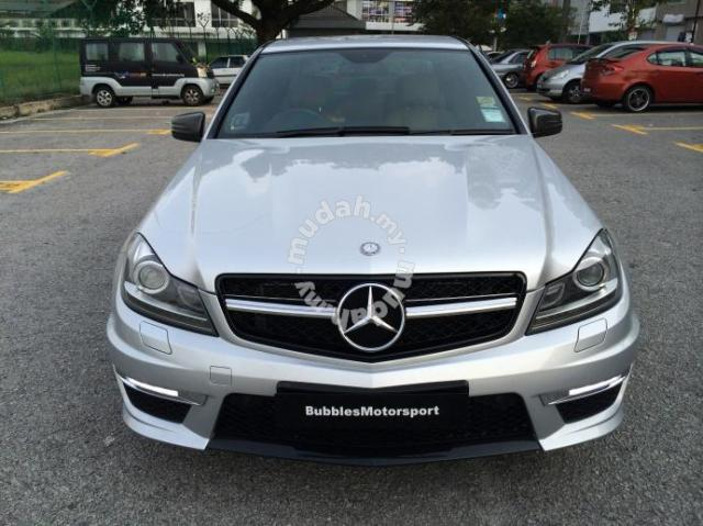 Mercedes c class w204 facelift amg style conver car for Mercedes benz c300 accessories