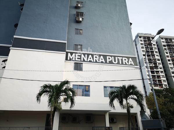 Menara Putra Apartment newly renovated