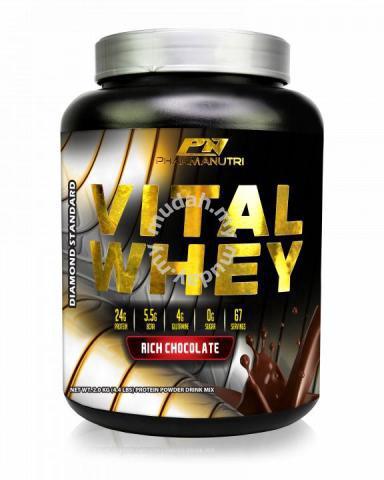 a62ec63cf8 Vital Whey Halal 2kg,24g Protein Isolate-Chocolate - Health & Beauty ...