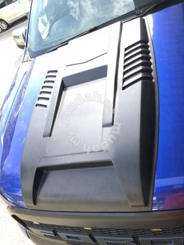 Ford ranger t7 / T6 big bonnet scoop abs material - Car Accessories ...
