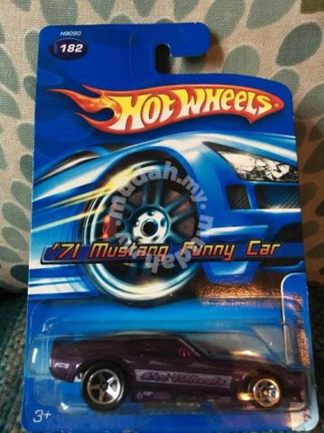 Hotwheels '71 Mustang Funny Car - Dark Purple - Hobby & Collectibles for  sale in Sri Damansara, Kuala Lumpur