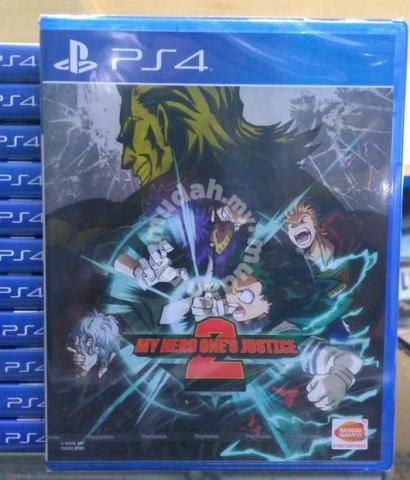 New Ps4 Game My Hero Ones Justice Academia 2 Games Consoles For Sale In Others Perak Mudah My