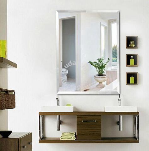 bathroom mirror 4202b cermin kamar mandi bed bath for sale in kota kinabalu sabah - Bathroom Accessories Kota Kinabalu