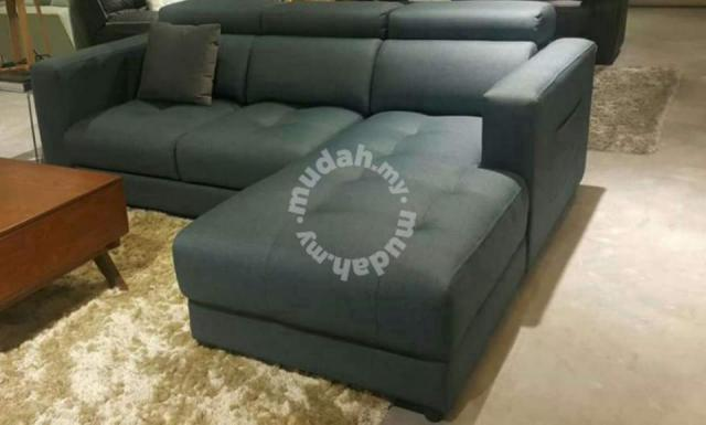 New luxury L shape sofa & SOFA REFURBISH - Furniture & Decoration for sale in Puchong, Selangor
