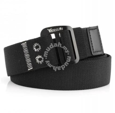 Ultralight Elastic Alloy Buckle Tactical Belt
