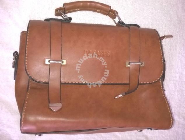 2b0e0f0506 LAGAFFE Leather Bag - Bags & Wallets for sale in Cheras, Kuala ...