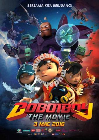 Poster Boboiboy The Movie 2 Hobby Collectibles For Sale In