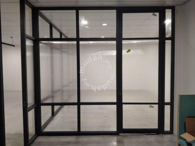 Install Glass Divider Tempered (Credit Card)