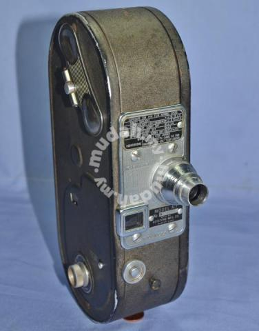 Antique keystone movie camera