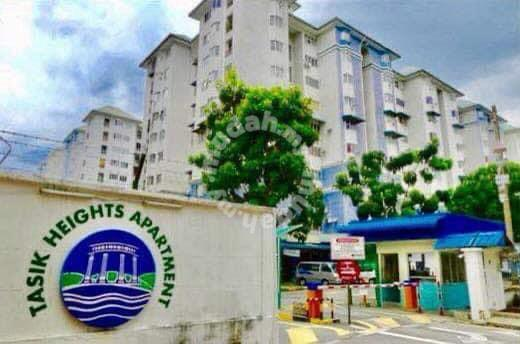 BELOW MARKET VALUE! Tasik Height Apartment, Cheras