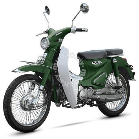 Murah jual  new 2021 wmoto cub classic 110 nvx