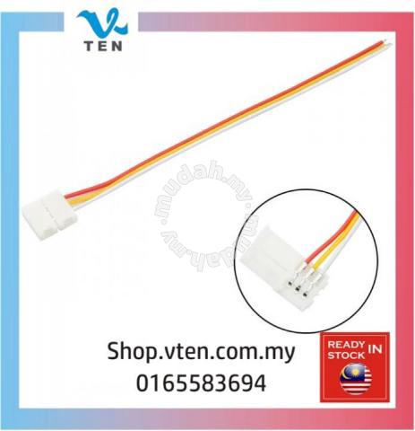 3Pin 10mm Cable Solderless LED Strip Connector