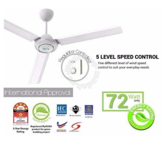 Heavy duty ceiling fan super offer home appliances kitchen for heavy duty ceiling fan super offer home appliances kitchen for sale in kajang selangor mozeypictures Gallery