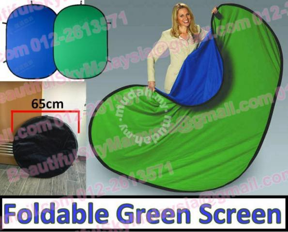 Green Screen Twist Foldable Green Studio Backdrop - Hobby & Collectibles  for sale in Cheras, Selangor