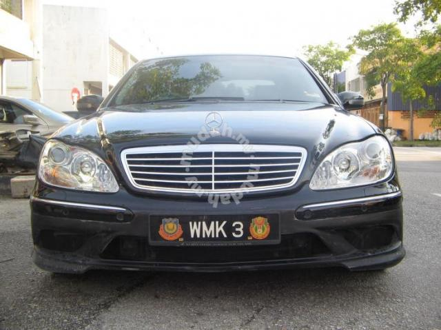 Mercedes w220 amg bodykit car accessories parts for for Mercedes benz amg accessories parts