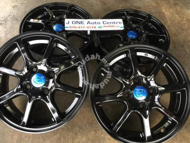 Used BEZZA oem 14inc rim for myvi axia viva KELISA - Car