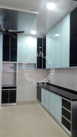 Aluminium Kabinet Dapur Economi Furniture Decoration For In Puchong Kuala Lumpur