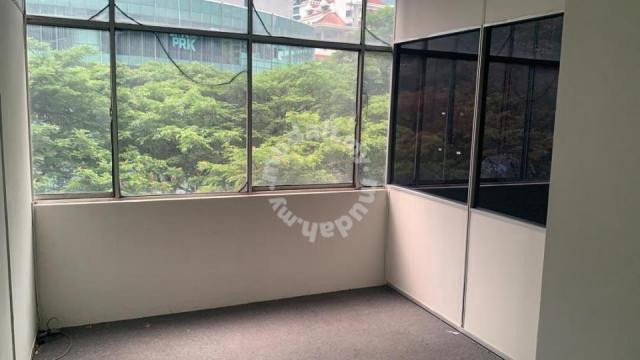 Greenery view Office lot WISMA CENTRAL, Jln Ampang, KLCC