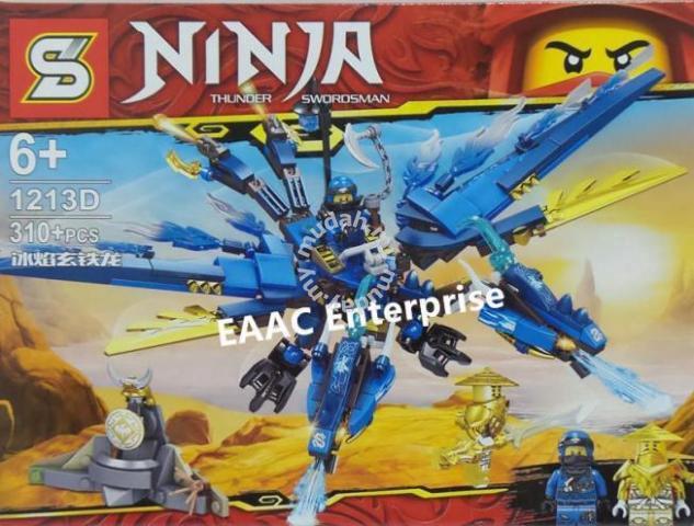 Ninja 1213D Ice Iron Dinosaur Lego Building Block - Moms & Kids for sale in  Kulai, Johor