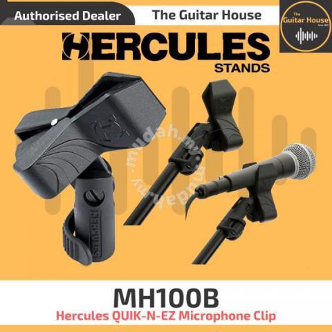 Hercules MH100B Quik-N-Ez Mic Clip