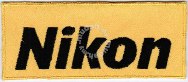 Nikon Badge Embroidered Patch