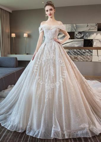 4050c04651 Glitter fishtail wedding bridal gown dress RB0906 - Wedding for sale in Johor  Bahru