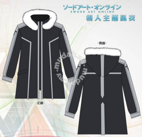 27062d9164 SAO kirito Jacket windbreaker - Clothes for sale in Kuala Terengganu ...