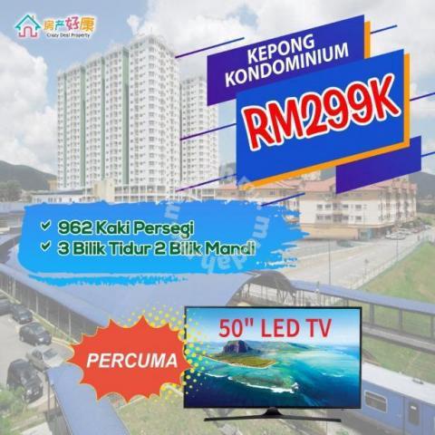 Kepong Condominium Kuala Lumpur Free TV Below Market Value