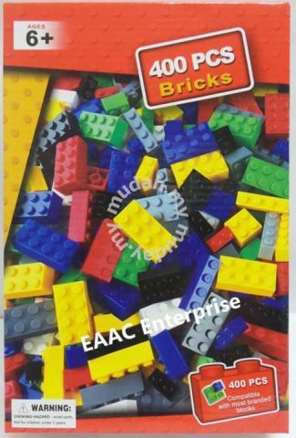400pcs DIY Lego Compatible Bricks Building Blocks - Moms & Kids for sale in  Kulai, Johor