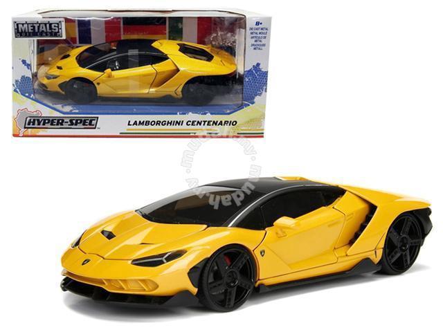 Lamborghini Centenario Yellow 1 24 Model Car Hobby Collectibles