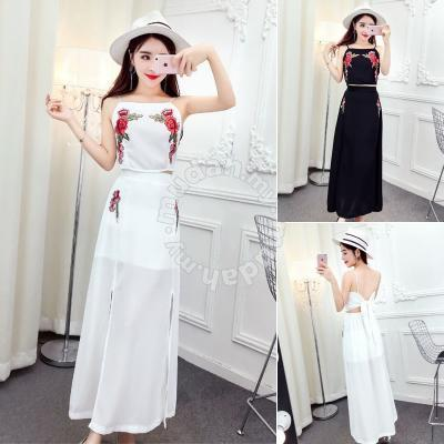 Black White Slit Dress Prom Dress Boho Rbp0345 Clothes For Sale In
