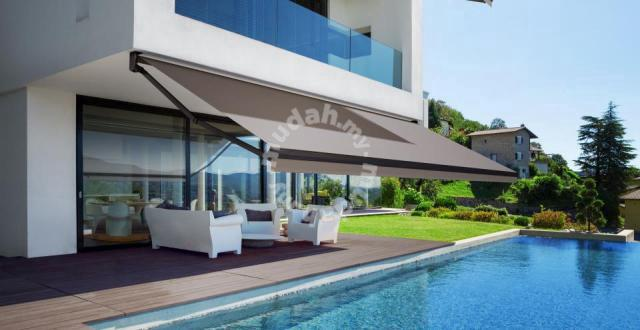 Retractable Awning - Motorized System - Fabric - Home Appliances & Kitchen  for sale in Kepong, Kuala Lumpur