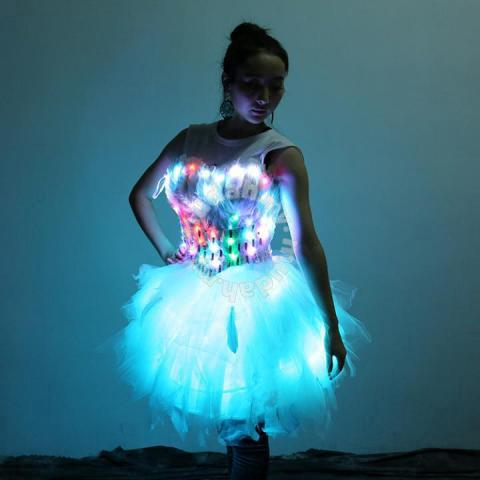 2fd9a525b LED cute party dress prom clubbing performance - Clothes for sale in ...