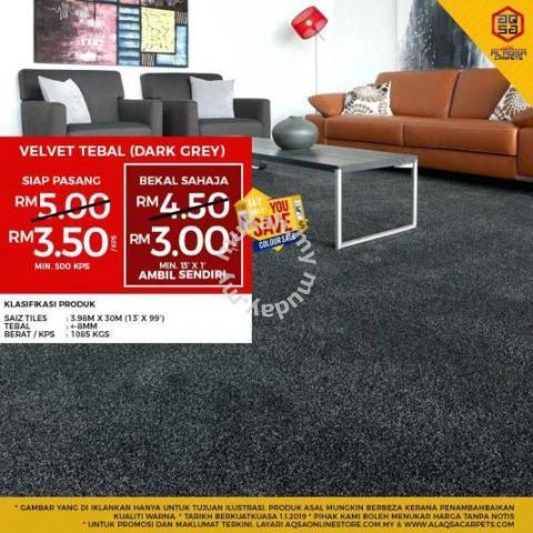 complete the living room with a beautiful carpets furniture rh mudah my  warna cat untuk living room